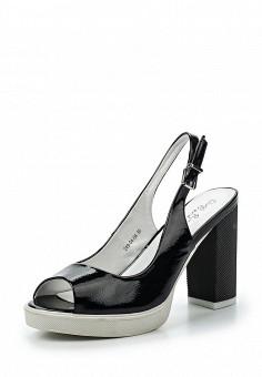 Босоножки, Dino Ricci Trend, цвет: черный. Артикул: DI029AWQYY01. Женская обувь / Босоножки