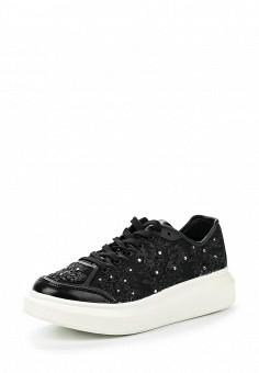 Кроссовки, Dino Ricci Trend, цвет: черный. Артикул: DI029AWQYY13. Женская обувь / Кроссовки и кеды