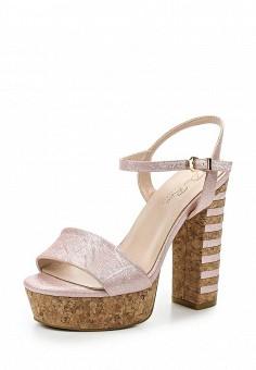 Босоножки, Dino Ricci Select, цвет: розовый. Артикул: DI034AWQYW47. Женская обувь / Босоножки