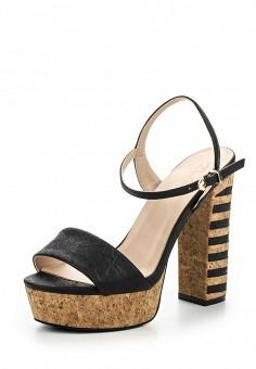 Босоножки, Dino Ricci Select, цвет: черный. Артикул: DI034AWQYW48. Женская обувь / Босоножки