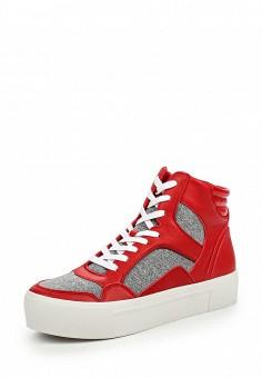 Кеды, DKNY, цвет: красный. Артикул: DK001AWJKZ37. Премиум / Обувь