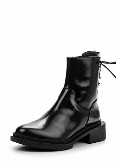 Полусапоги, DKNY, цвет: черный. Артикул: DK001AWPVH96. Премиум / Обувь