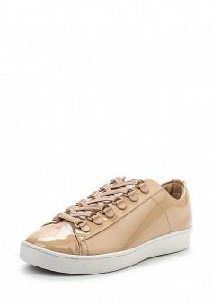 Кеды, DKNY, цвет: бежевый. Артикул: DK001AWPVI01. Премиум / Обувь