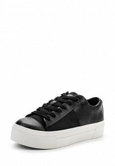 Кеды, DKNY, цвет: черный. Артикул: DK001AWPVI07. Женская обувь / Кроссовки и кеды