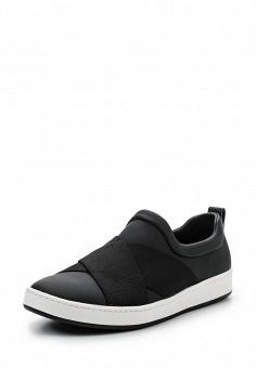 Слипоны, DKNY, цвет: черный. Артикул: DK001AWROY30. Премиум / Обувь