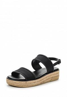 Босоножки, DKNY, цвет: черный. Артикул: DK001AWROY53. Премиум / Обувь