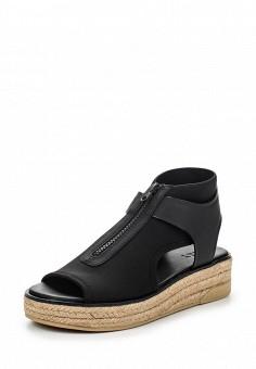 Босоножки, DKNY, цвет: черный. Артикул: DK001AWROY59. Премиум / Обувь