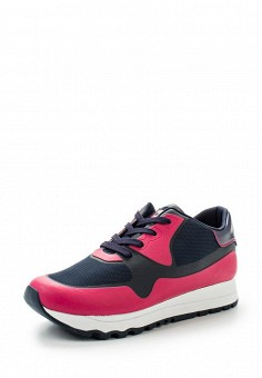 Кроссовки, DKNY, цвет: розовый. Артикул: DK001AWVBF33. Женская обувь / Кроссовки и кеды
