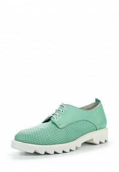 Ботинки, D.Moro, цвет: мятный. Артикул: DM001AWROV54. Женская обувь / Ботинки