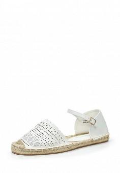 Сандалии, Dorothy Perkins, цвет: белый. Артикул: DO005AWTOC49. Женская обувь / Сандалии
