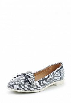 Топсайдеры, Dorothy Perkins, цвет: синий. Артикул: DO005AWUBQ83. Женская обувь / Мокасины и топсайдеры