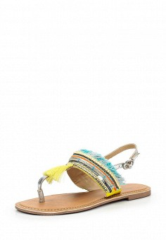 Сандалии, Dorothy Perkins, цвет: мультиколор. Артикул: DO005AWUFJ27. Женская обувь / Сандалии