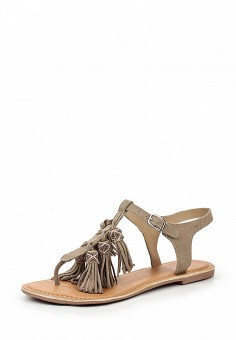 Сандалии, Dorothy Perkins, цвет: серый. Артикул: DO005AWUFJ28. Женская обувь / Сандалии