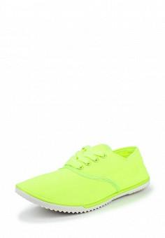 Кроссовки, D.T. New York, цвет: зеленый. Артикул: DT002AWQHJ88. Женская обувь / Кроссовки и кеды / Кроссовки