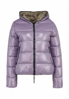 Пуховик, Duvetica, цвет: фиолетовый. Артикул: DU004EWFKC65. Женщинам / Одежда / Верхняя одежда