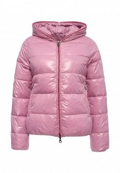 Пуховик, Duvetica, цвет: розовый. Артикул: DU004EWMBE27. Женщинам / Одежда / Верхняя одежда