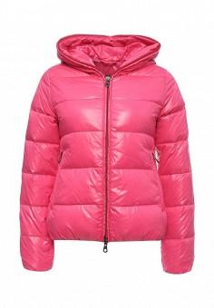 Пуховик, Duvetica, цвет: розовый. Артикул: DU004EWMBE28. Женщинам / Одежда / Верхняя одежда
