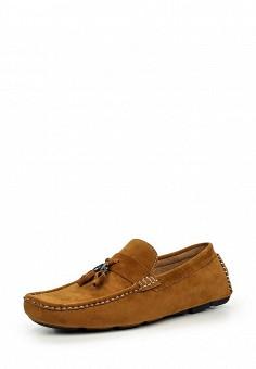 Мокасины, Elong, цвет: коричневый. Артикул: EL025AMIOW71. Мужская обувь / Мокасины и топсайдеры