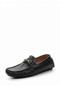 Мокасины, Elong, цвет: черный. Артикул: EL025AMRTU28. Мужская обувь / Мокасины и топсайдеры