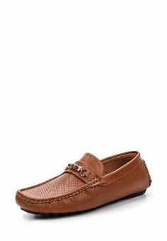 Мокасины, Elong, цвет: коричневый. Артикул: EL025AMRTU37. Мужская обувь / Мокасины и топсайдеры