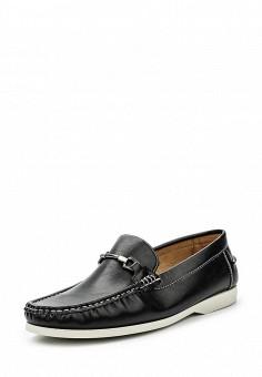 Мокасины, Elong, цвет: черный. Артикул: EL025AMRVC33. Мужская обувь / Мокасины и топсайдеры