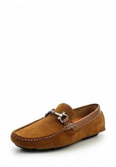 Мокасины, Elong, цвет: коричневый. Артикул: EL025AMRWQ26. Мужская обувь / Мокасины и топсайдеры