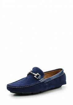 Мокасины, Elong, цвет: синий. Артикул: EL025AMRWQ27. Мужская обувь / Мокасины и топсайдеры