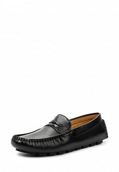 Мокасины, Elong, цвет: черный. Артикул: EL025AMTJL05. Мужская обувь / Мокасины и топсайдеры