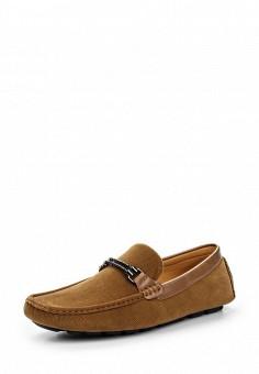 Мокасины, Elong, цвет: коричневый. Артикул: EL025AMTJL12. Мужская обувь / Мокасины и топсайдеры