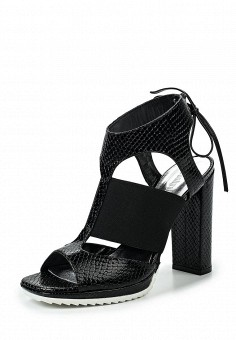 Босоножки, Conhpol-Bis, цвет: черный. Артикул: ER946AWRBY52. Женская обувь / Босоножки