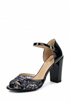 Босоножки, Conhpol-Bis, цвет: черный. Артикул: ER946AWRBY62. Женская обувь / Босоножки