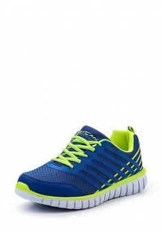 Кроссовки, Escan, цвет: синий. Артикул: ES021AWQSB46. Женская обувь / Кроссовки и кеды / Кроссовки
