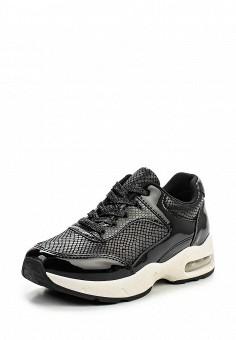 Кроссовки, Exquily, цвет: черный. Артикул: EX003AWLIK58. Женская обувь / Кроссовки и кеды / Кроссовки