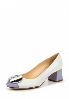 Туфли, Fabi, цвет: белый. Артикул: FA075AWNXW79. Премиум / Обувь / Туфли