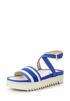 Сандалии, Fabi, цвет: голубой. Артикул: FA075AWNXW85. Премиум / Обувь / Сандалии