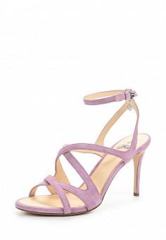 Босоножки, Fabi, цвет: фиолетовый. Артикул: FA075AWNXX16. Премиум / Обувь / Босоножки