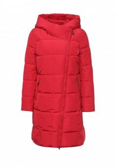 Куртка утепленная, FiNN FLARE, цвет: красный. Артикул: FI001EWKHE29. Женская одежда / Верхняя одежда