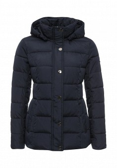 Куртка утепленная, FiNN FLARE, цвет: синий. Артикул: FI001EWKHE32. Женская одежда / Верхняя одежда