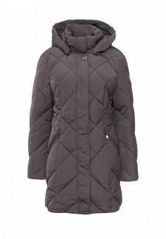 Куртка утепленная, FiNN FLARE, цвет: серый. Артикул: FI001EWKHE46. Женская одежда / Верхняя одежда
