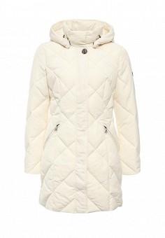 Куртка утепленная, FiNN FLARE, цвет: бежевый. Артикул: FI001EWKHE47. Женская одежда / Верхняя одежда