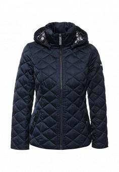 Куртка утепленная, FiNN FLARE, цвет: синий. Артикул: FI001EWKHF48. Женская одежда / Верхняя одежда