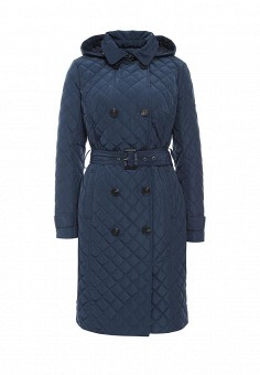 Куртка утепленная, FiNN FLARE, цвет: синий. Артикул: FI001EWKHF49. Женская одежда / Верхняя одежда