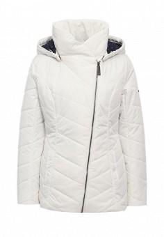 Куртка утепленная, FiNN FLARE, цвет: белый. Артикул: FI001EWKHG20. Женская одежда / Верхняя одежда