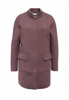 Пальто, FiNN FLARE, цвет: фиолетовый. Артикул: FI001EWLPP29. Женская одежда / Верхняя одежда