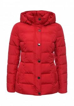Куртка утепленная, FiNN FLARE, цвет: красный. Артикул: FI001EWMSG14. Женская одежда / Верхняя одежда