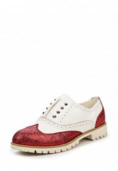Ботинки, Fiori&Spine, цвет: красный. Артикул: FI021AWQPZ27. Женская обувь / Ботинки / Низкие ботинки