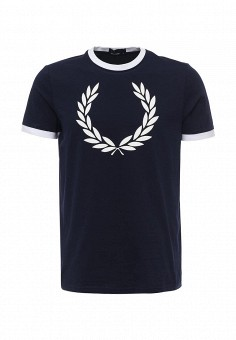 Футболка, Fred Perry, цвет: синий. Артикул: FR006EMOOI50. Fred Perry