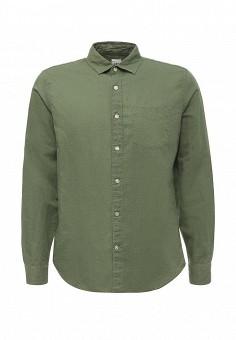 Рубашка, Gap, цвет: хаки. Артикул: GA020EMQAK60. Мужская одежда / Рубашки