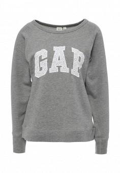 Свитшот, Gap, цвет: серый. Артикул: GA020EWNQT47.