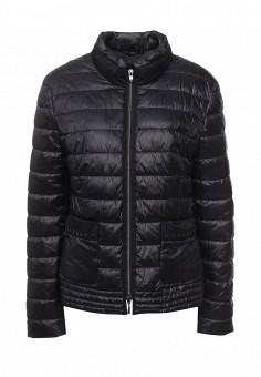 Куртка утепленная, Gerry Weber, цвет: синий. Артикул: GE002EWORT04. Женская одежда / Верхняя одежда / Демисезонные куртки